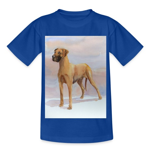 Great Dane Yellow - Børne-T-shirt
