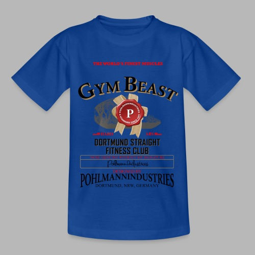 GYM BEAST - Kinder T-Shirt