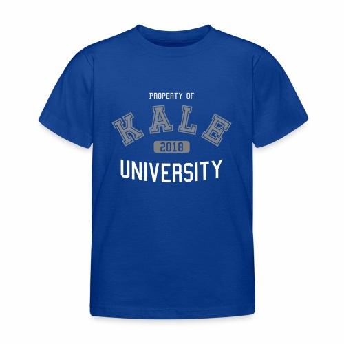 Kale University - Grünkohl Universität - Veganer - Kinder T-Shirt