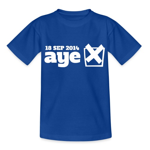 Vote Aye - Kids' T-Shirt