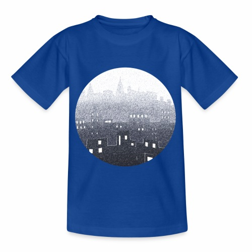 city hall snow blue - T-shirt Enfant