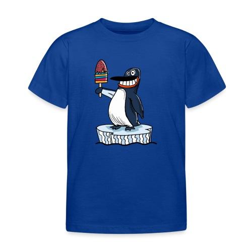 Funny Penguin Icecream Kids Smile: Penguin Ice - Maglietta per bambini