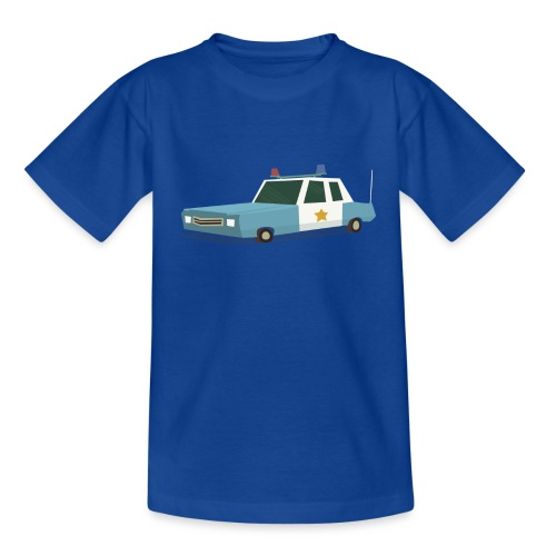 Police car t shirt - Kids' T-Shirt