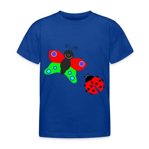Lieveheersbeestje en vlinder - Kinderen T-shirt
