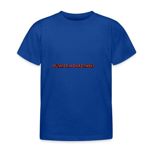 Red Oliwier Mokrzynski logo - Kids' T-Shirt