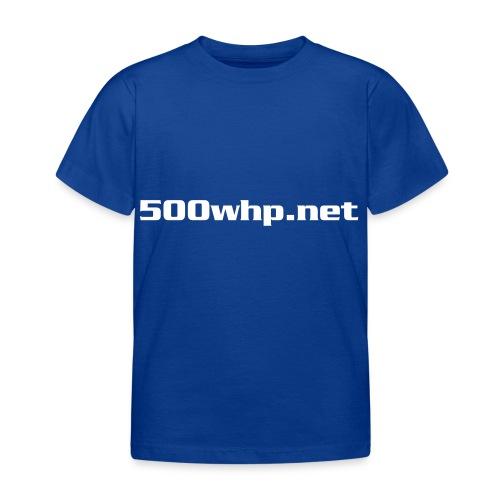 500whpcs1 - Lasten t-paita