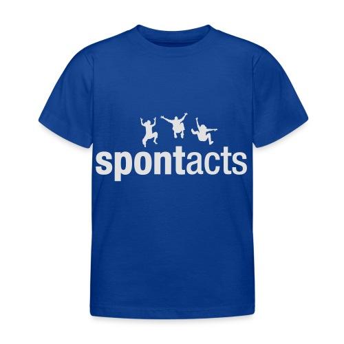 spontacts_Logo_weiss - Kinder T-Shirt