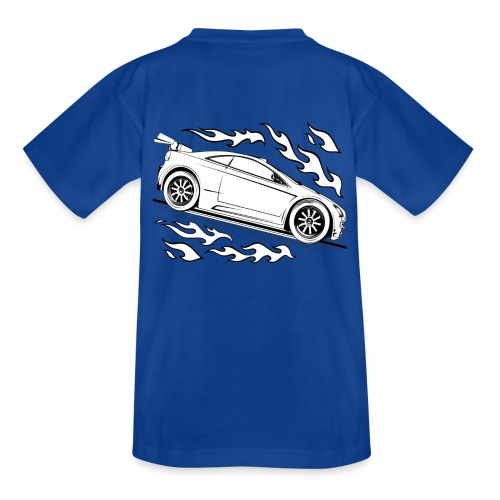 ausmalauto - Kinder T-Shirt