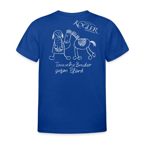 Kogler Logo mittersill - Kinder T-Shirt