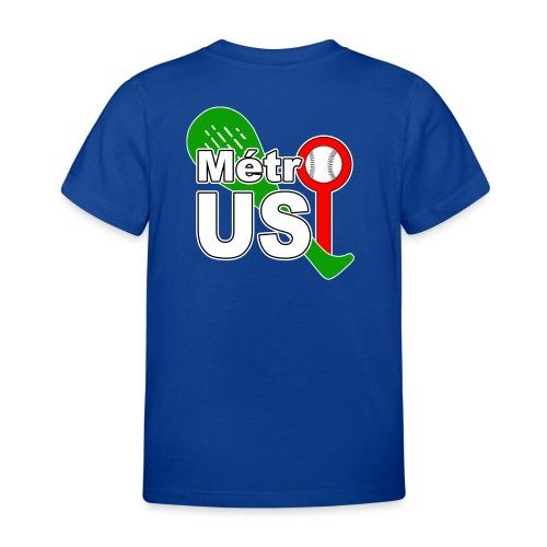 USMTTrophée3couleursV2A png - T-shirt Enfant