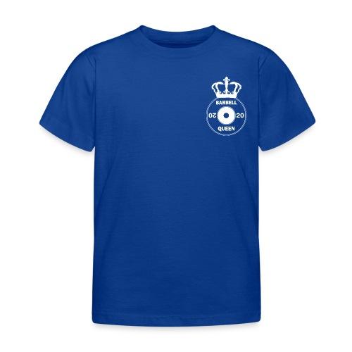 The Barbell Queen - Kids' T-Shirt