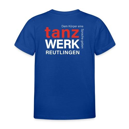 Tanzwerk - Standard - weiß - Kinder T-Shirt