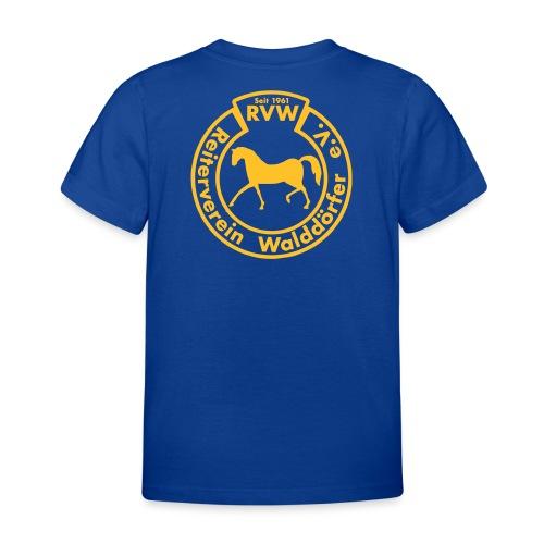 RVW Logo Gelb Vector - Kinder T-Shirt