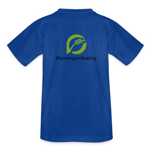 farmingandbaking_logogruen - Kinder T-Shirt