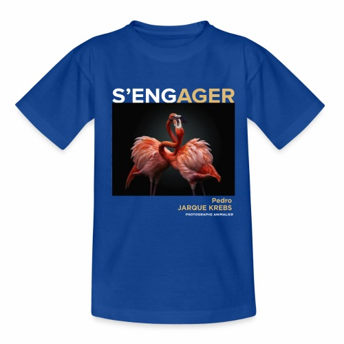 1 Achat = 1 Don à l'association Rainfer - T-shirt Enfant