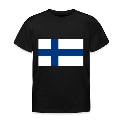 800pxflag of finlandsvg - Lasten t-paita