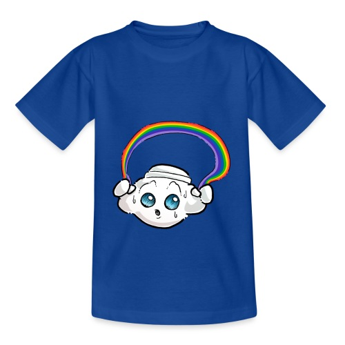 Oliver Cast The Cloud - Rainbow - Kids' T-Shirt