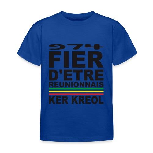 974 ker kreol fier et culture - T-shirt Enfant