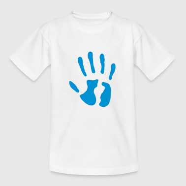 Käsi - syntymäaika - 5 vuotta - Lasten t-paita