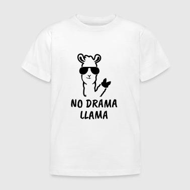 NO DRAMA LLAMA! - Kinder T-Shirt