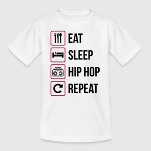 Eat Sleep Hip Hop Repeat - Kids' T-Shirt