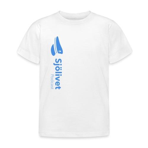 Sjölivet podcast - Svart logotyp - T-shirt barn