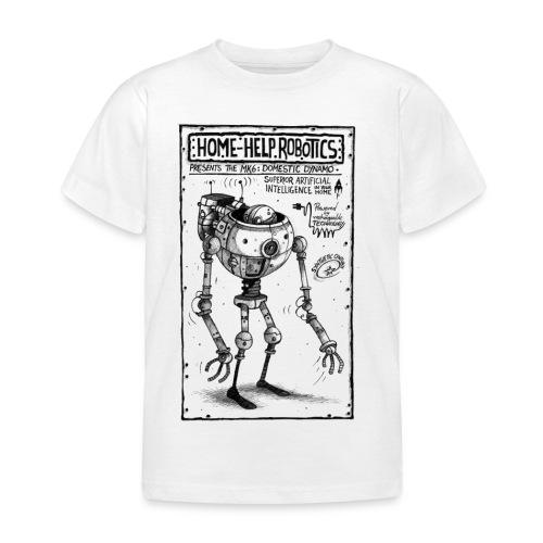 HomeHelpRobotics png - Kids' T-Shirt