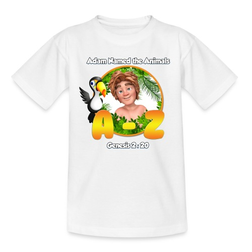 Adam Named the Animals Logo - Kids' T-Shirt