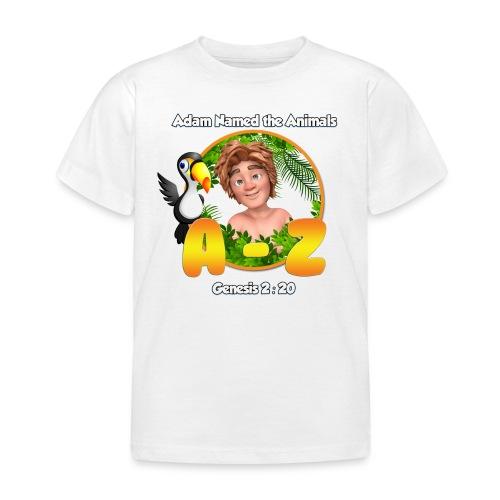 Adam Named the Animals Logo - Kids' T-Shirt