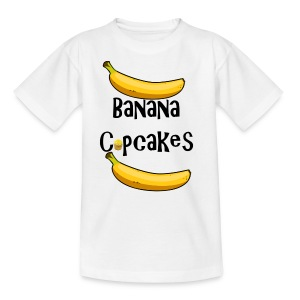 Banana Cupcake - Kids' T-Shirt