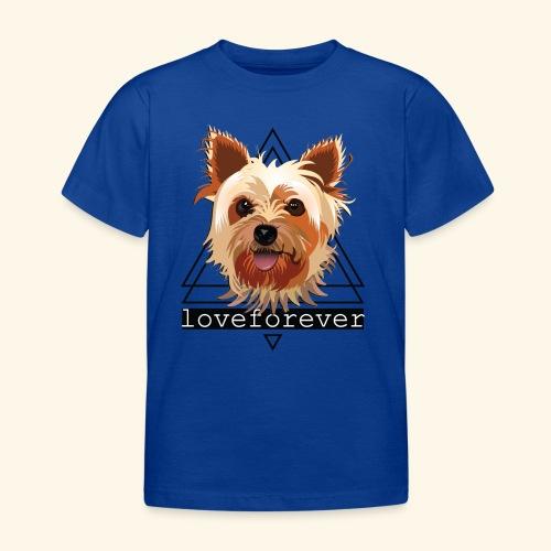 YORKIE LOVE FOREVER - Camiseta niño