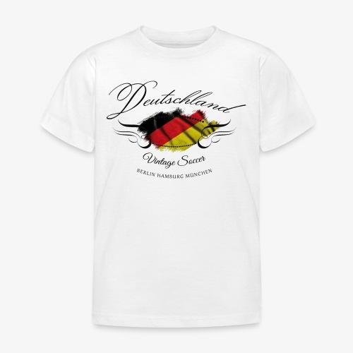 Vintage Deutschland - Kinder T-Shirt