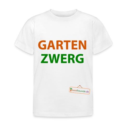 gartenzwerg - Kinder T-Shirt