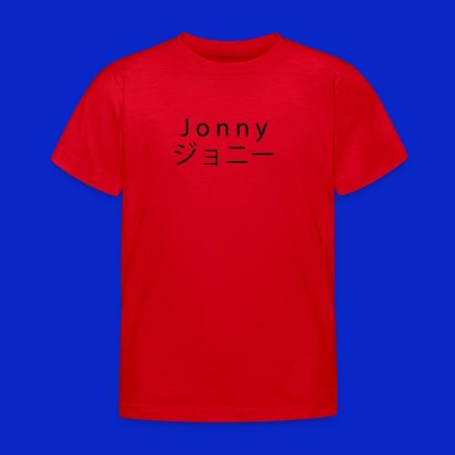 J o n n y (black) - Kids' T-Shirt
