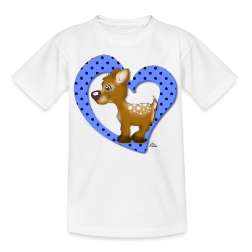 Kira Kitzi Blaubeere - Kinder T-Shirt