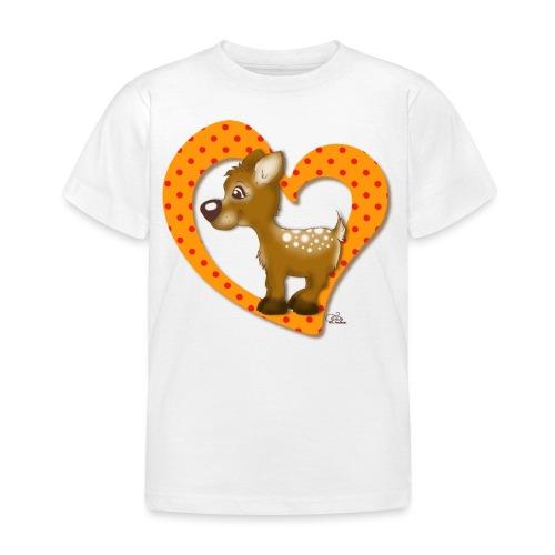 Kira Kitzi Mandarine - Kinder T-Shirt