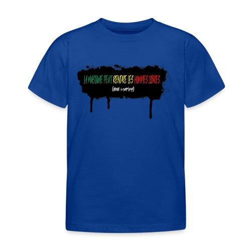 citation marley - T-shirt Enfant
