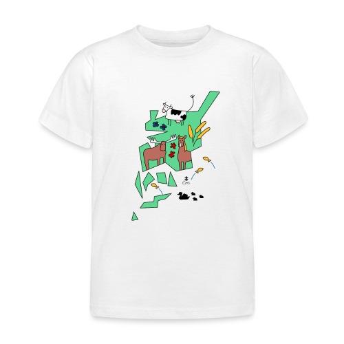 Åboland × Eva: Kimitoöns djurliv - Lasten t-paita