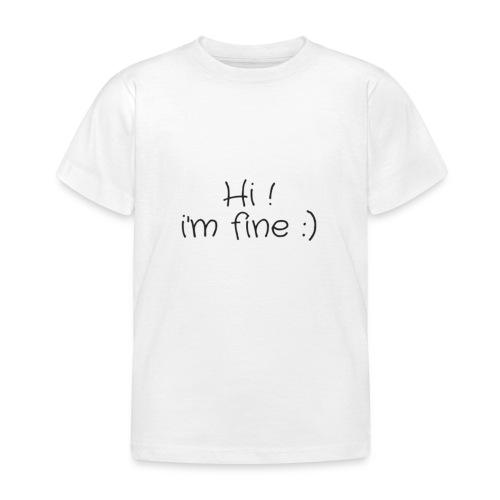 hi - T-shirt Enfant