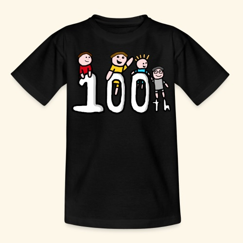 100th Video - Kids' T-Shirt