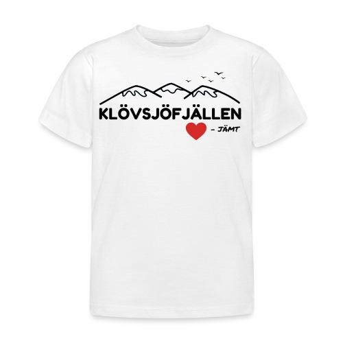 Klövsjöfjällen - T-shirt barn