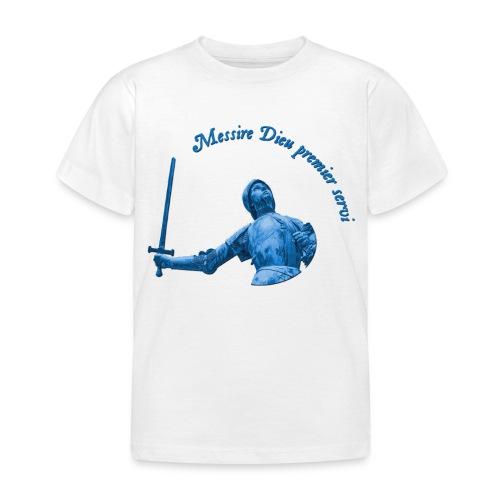 Sainte Jeanne d'Arc - Messire Dieu premier servi - T-shirt Enfant