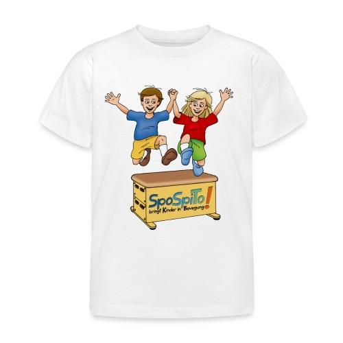 Sporteln Spielen Toben - Kinder T-Shirt