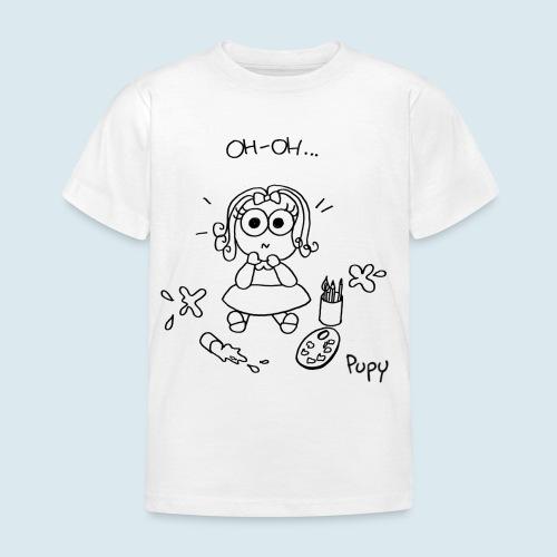 Pupy: oh-oh... - girl - Maglietta per bambini
