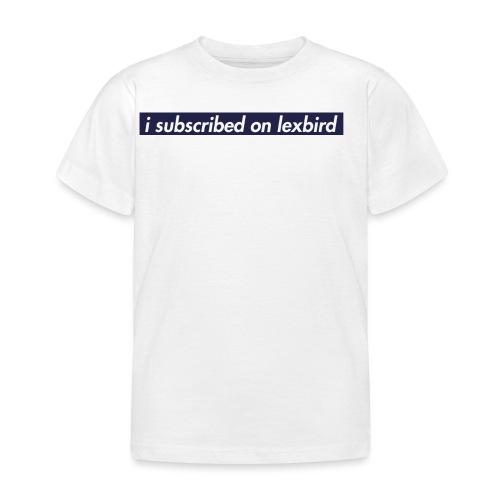 lexbird - T-shirt barn