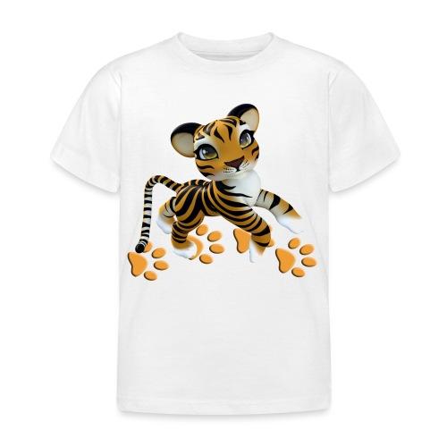 Kleiner Tiger - Kinder T-Shirt