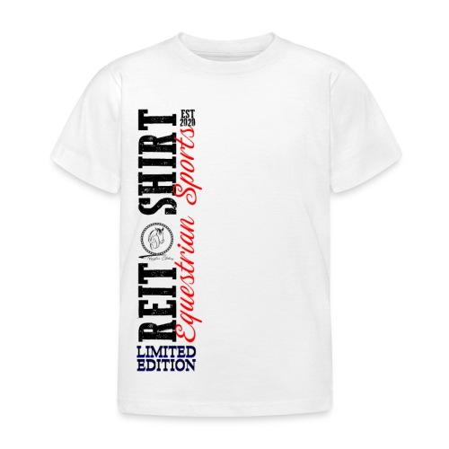 ReitShirt Limited Edition Pferde Reiten - Kinder T-Shirt