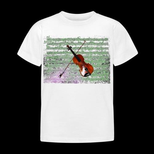 Violin - Kids' T-Shirt