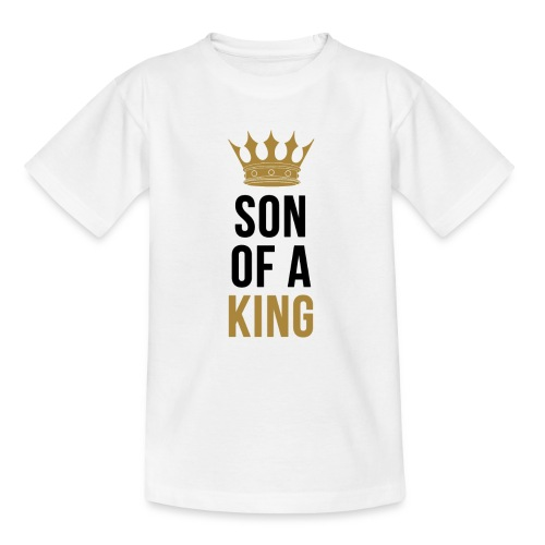 Son of a King Vater und Sohn Partnerlook - Kinder T-Shirt