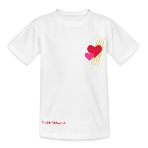 Teddy.Kidswear. – Hearts - Kinder T-Shirt